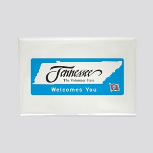 Welcome to Tennessee - USA Rectangle Magnet