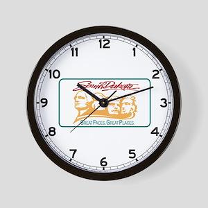 Welcome to South Dakota - USA Wall Clock