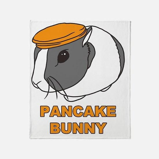 pancakebunny Throw Blanket