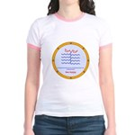 Sea Amine molecule Jr. Ringer T-Shirt