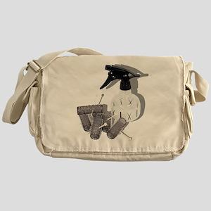 HairRollersWaterSprayer060910shadows Messenger Bag