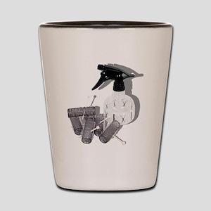 HairRollersWaterSprayer060910shadows Shot Glass
