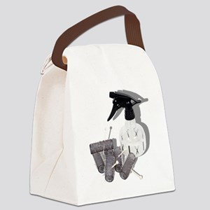 HairRollersWaterSprayer060910shad Canvas Lunch Bag