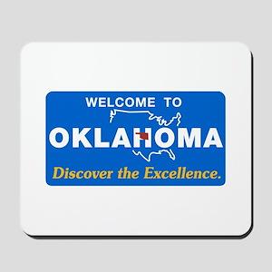 Welcome to Oklahoma - USA Mousepad