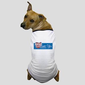 Welcome to Ohio - USA Dog T-Shirt