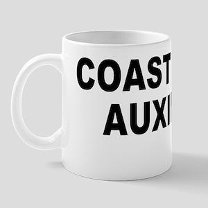 USCGAux-Text-Black Mug