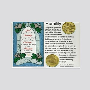 HUMILITY Rectangle Magnet