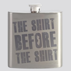the shirt before the shirt Jersey Shore Shir Flask