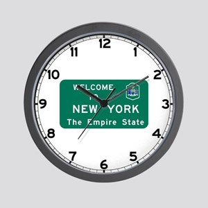 Welcome to New York - USA Wall Clock