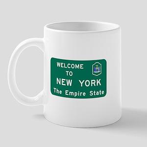 Welcome to New York - USA Mug