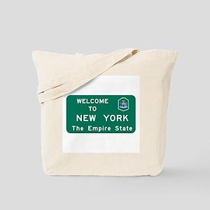 Welcome to New York - USA Tote Bag