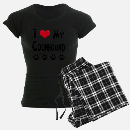 I-Love-My-Coonhound Pajamas