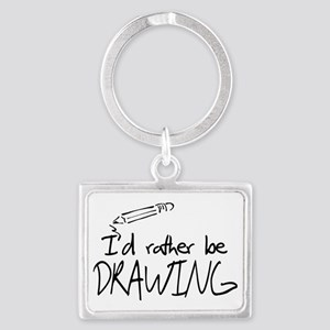 drawing Landscape Keychain