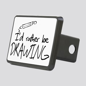 drawing Rectangular Hitch Cover