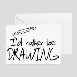 Drawing greeting cards cafepress drawing greeting card m4hsunfo