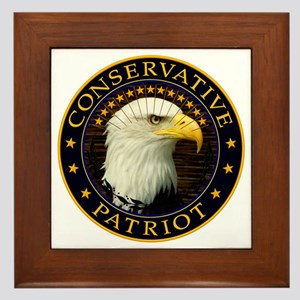 Conservative Patriot 2 Framed Tile