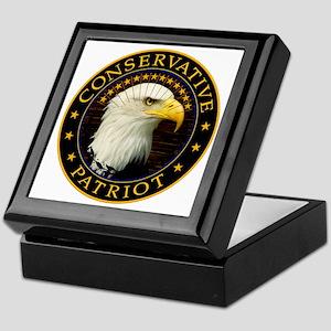 Conservative Patriot 2 Keepsake Box