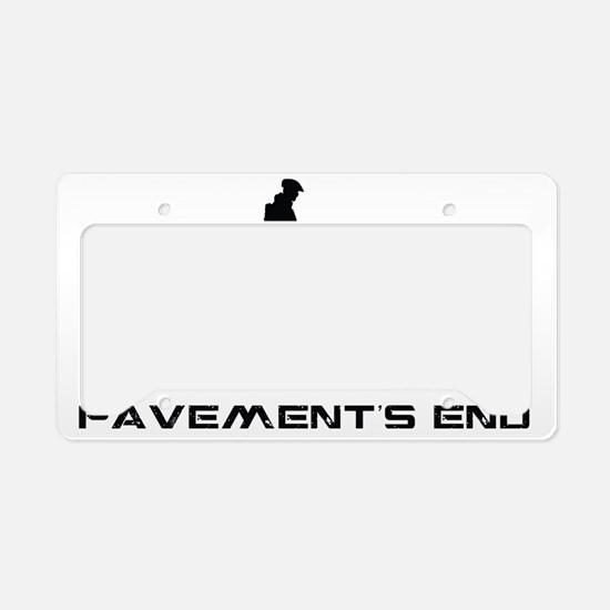 MountainBiker.eps License Plate Holder