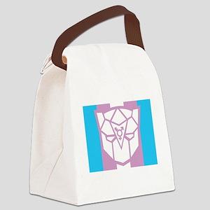 Transgender-transformers-BLK Canvas Lunch Bag