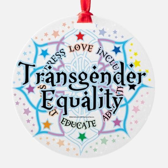 Transgender-Equality-Lotus Ornament