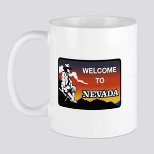 Welcome to Nevada - USA Mug