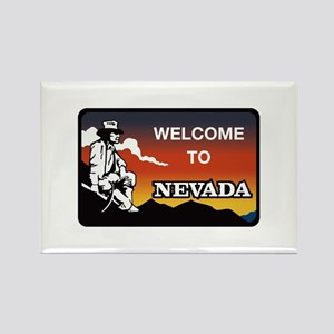 Welcome to Nevada - USA Rectangle Magnet