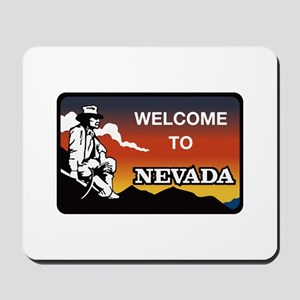 Welcome to Nevada - USA Mousepad