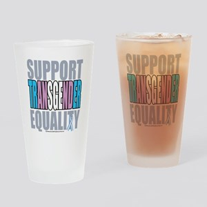 Support-Transgender-Equality Drinking Glass