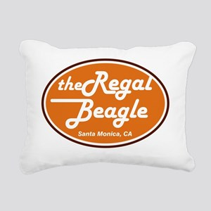 regal beagle adult Rectangular Canvas Pillow