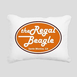 regal beagle adult Rectangular Canvas Pillow