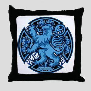 Scottish-Blue-Cross Throw Pillow