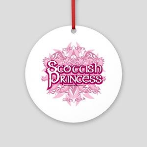 Scottish-Princess-2009 Round Ornament