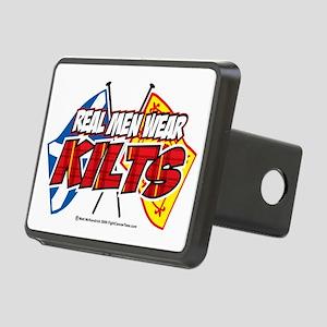 Real-Men-Wear-Kilts-2 Rectangular Hitch Cover