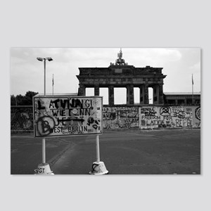 Berlin-Wall 2 Postcards (Package of 8)