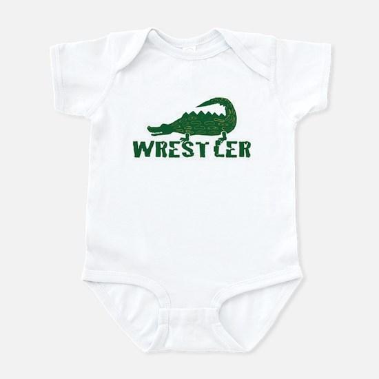 Alligator Wrestler Infant Bodysuit