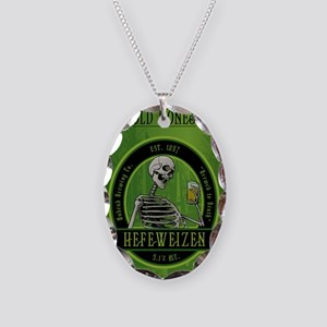 Beer_label_Skeleton Necklace Oval Charm