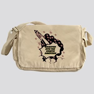 fourth-dimension Messenger Bag