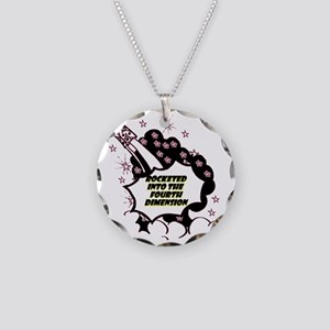 fourth-dimension Necklace Circle Charm