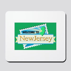 Welcome to New Jersey - USA Mousepad