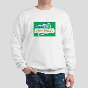Welcome to New Jersey - USA Sweatshirt