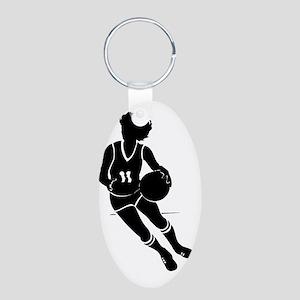 2103722 Aluminum Oval Keychain