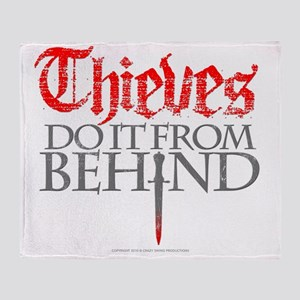 thieves_do_it Throw Blanket