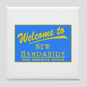 Welcome to New Hampshire - US Tile Coaster