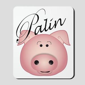 palin_pig Mousepad