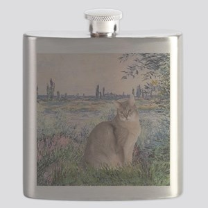 By the Seine - Abyssinian (blue 21) Flask