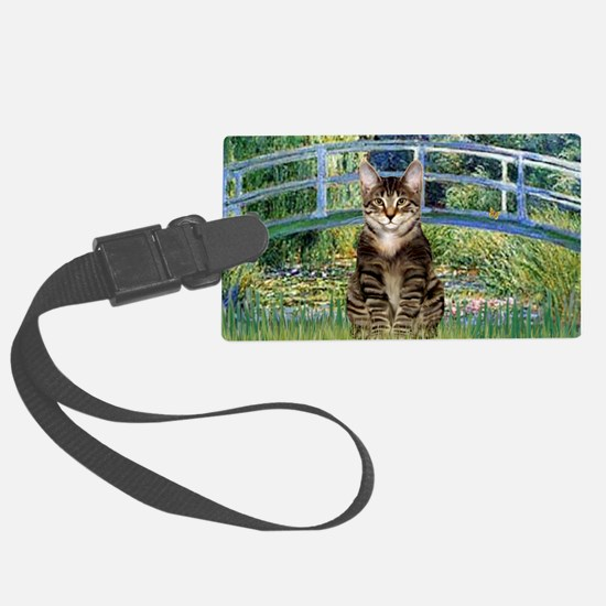 Bridge - Tabby Tiger cat 30 Luggage Tag