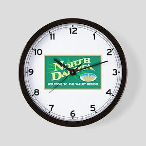 Welcome to North Dakota - USA Wall Clock