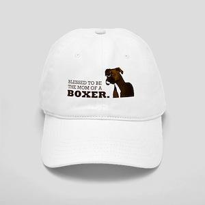 2-blessedboxermom Cap