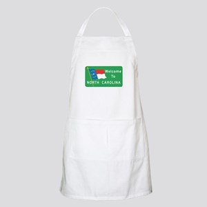 Welcome to North Carolina - USA BBQ Apron