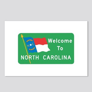 Welcome to North Carolina - USA Postcards (Package